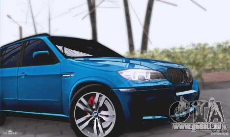 BMW X5M 2013 v1.0 pour GTA San Andreas vue arrière