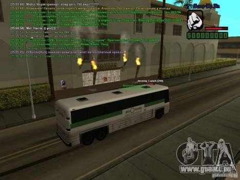SA:MP 0.3d pour GTA San Andreas huitième écran