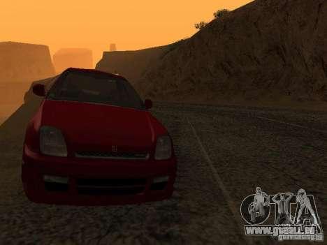 Honda Prelude Sport pour GTA San Andreas vue intérieure