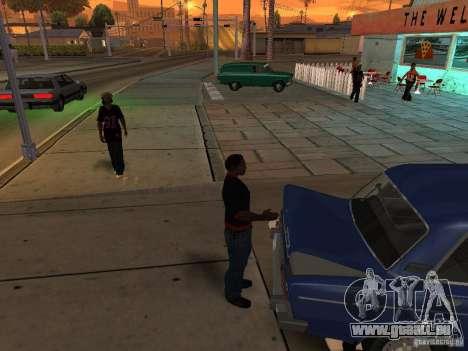 Ouvrez le coffre et capot manuellement pour GTA San Andreas cinquième écran