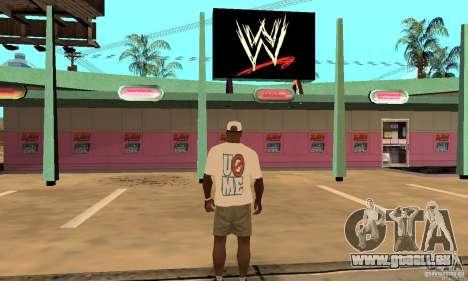 Casquette John Cena pour GTA San Andreas deuxième écran
