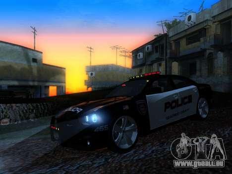 Dodge Charger SRT8 Police für GTA San Andreas Innenansicht