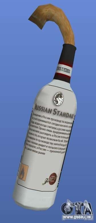 Russian Standard Vodka Molotov pour GTA 4 secondes d'écran