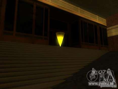 Der Eingang zu der Polizeizone in San Fierro für GTA San Andreas zweiten Screenshot
