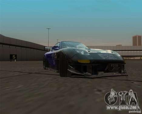 Mazda RX-7 FD3S special type pour GTA San Andreas vue arrière