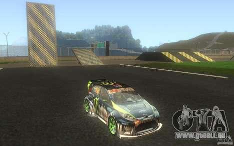 Ford Fiesta Gymkhana pour GTA San Andreas vue intérieure