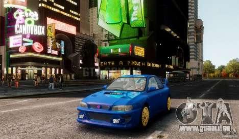 Subaru Impreza 22B 1998 pour GTA 4