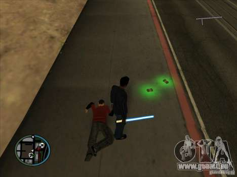 GTA IV LIGHTS pour GTA San Andreas