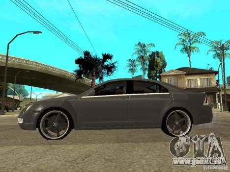 Ford Fusion 2008 Dub pour GTA San Andreas laissé vue