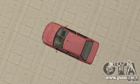 Fiat Siena HLX 1.8 Flex pour GTA San Andreas sur la vue arrière gauche