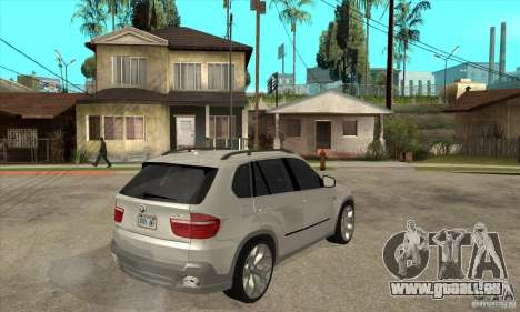 BMW X5 E70 Tuned für GTA San Andreas rechten Ansicht