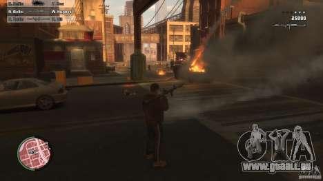 First Person Shooter Mod pour GTA 4 secondes d'écran