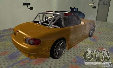 Mazda MX-5 für GTA San Andreas linke Ansicht