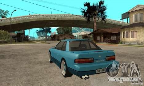 Nissan Silvia S13 1992 Club Ks pour GTA San Andreas sur la vue arrière gauche