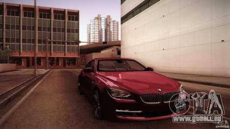 BMW 640i Coupe für GTA San Andreas
