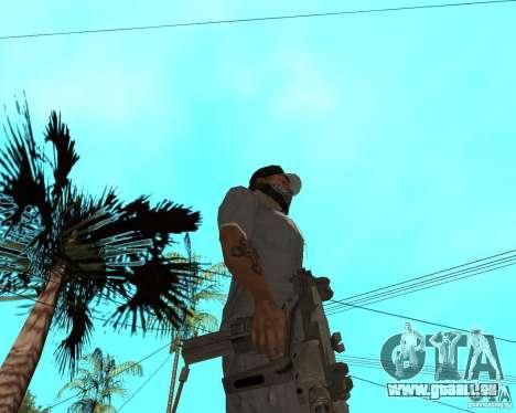 Mini-Uzi pour GTA San Andreas deuxième écran
