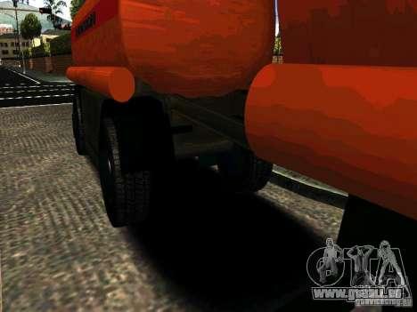 MAZ 533702 LKW für GTA San Andreas zurück linke Ansicht