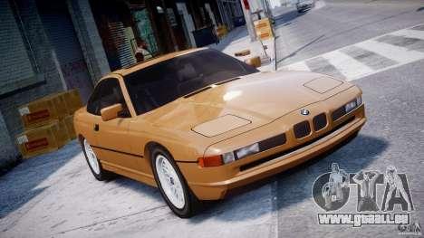 BMW 850i E31 1989-1994 für GTA 4
