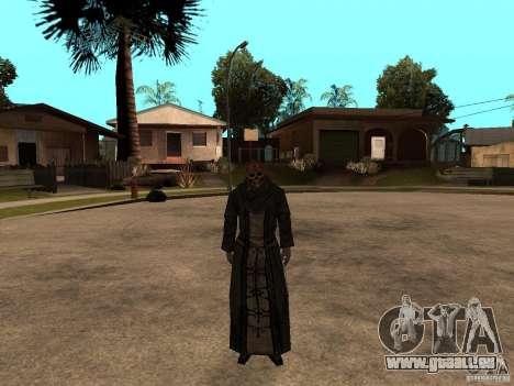 Mise à jour Pak personnages de Resident Evil 4 pour GTA San Andreas quatrième écran
