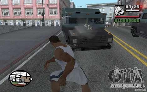 Jeter les pelles pour GTA San Andreas