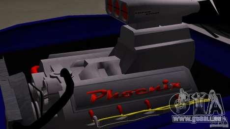 New Phoenix pour GTA San Andreas vue de droite