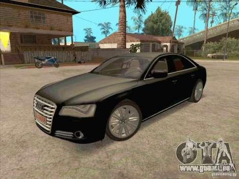 Audi A8 2010 pour GTA San Andreas
