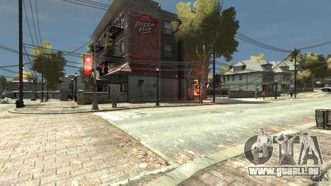 Pizza Hut pour GTA 4 secondes d'écran