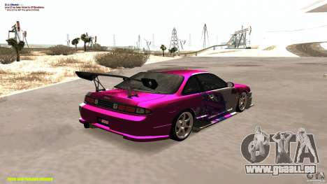 Nissan Silvia S14 kuoki RDS für GTA San Andreas rechten Ansicht