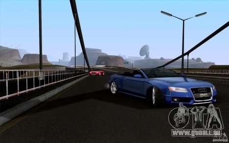 Audi S5 Cabriolet 2010 für GTA San Andreas rechten Ansicht
