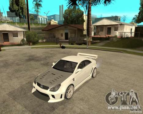 MERCEDES CLS 63 AMG TUNING pour GTA San Andreas