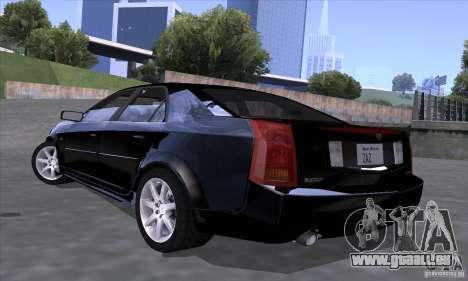 Cadillac CTS-V für GTA San Andreas linke Ansicht