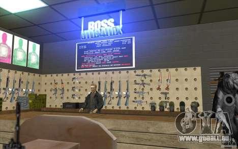 Boutique d'armes S. T. A. L. k. e. R pour GTA San Andreas troisième écran