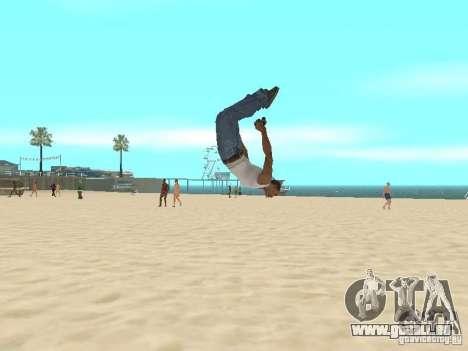 Parkour 40 mod pour GTA San Andreas deuxième écran