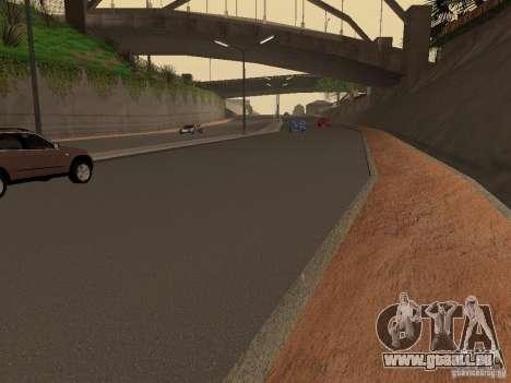 Neue Wege in der Grove Street für GTA San Andreas dritten Screenshot