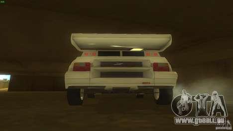 Citroen BX 4TC pour GTA San Andreas vue de droite