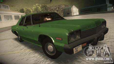 Dodge Monaco pour GTA San Andreas vue de côté