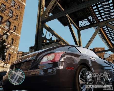 2007 Chrysler Crossfire pour GTA 4 est un droit