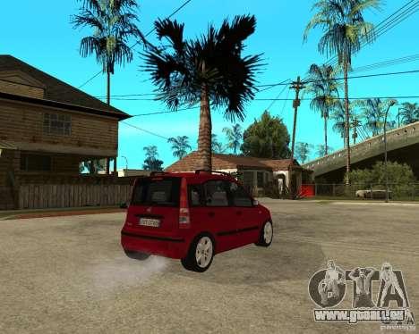 2004 Fiat Panda v.2 für GTA San Andreas zurück linke Ansicht
