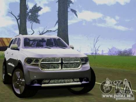 Dodge Durango 2012 pour GTA San Andreas