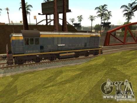 TÈM1M-1836 pour GTA San Andreas sur la vue arrière gauche