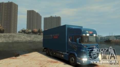 Scania R580 pour GTA 4 est un droit