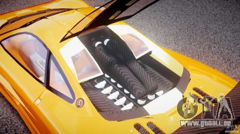 Mc Laren F1 LM v1.0 pour GTA 4 Vue arrière