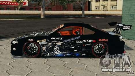 Nissan Silvia S15 HKS für GTA 4 linke Ansicht