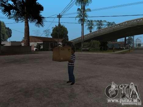 CJ-kleptomanischen für GTA San Andreas dritten Screenshot