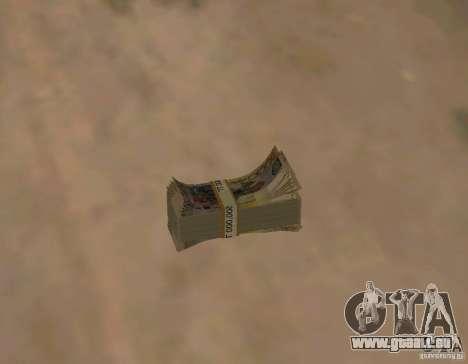 Kasachisch-Geld für GTA San Andreas dritten Screenshot