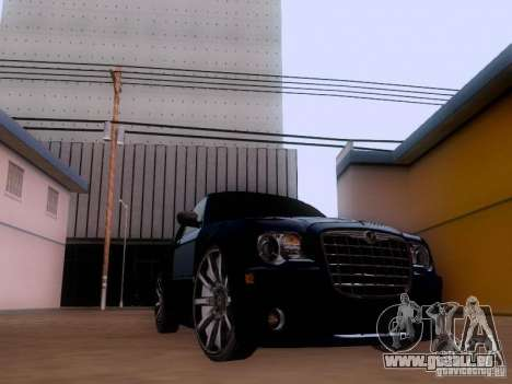 Chrysler 300C SRT8 2007 pour GTA San Andreas laissé vue