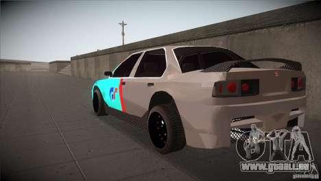 Honda Accord pour GTA San Andreas sur la vue arrière gauche