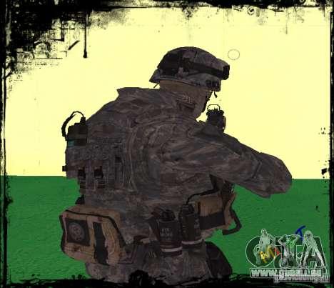 Fantassin États-Unis pour GTA San Andreas deuxième écran