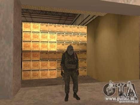 Dušman 2 de COD4MW pour GTA San Andreas cinquième écran