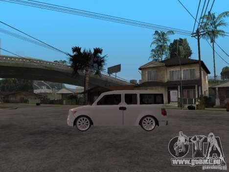Honda Element pour GTA San Andreas laissé vue